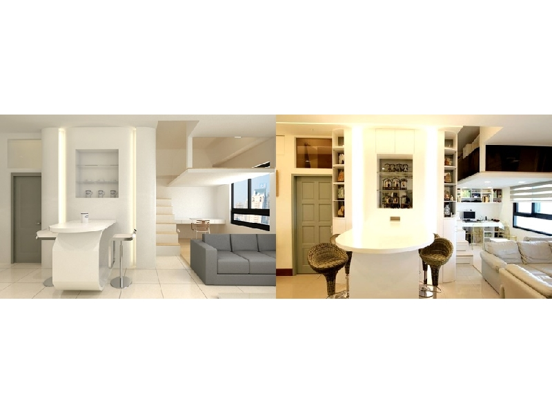御品室內設計(02-29351111)秉持著用心熱忱的態度,量身打造個人風格的居家設計