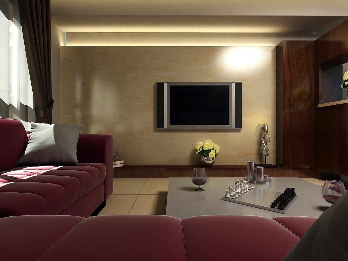 客廳設計以現代風