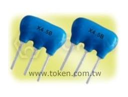 德鍵電子專業生產 電視機/錄像機用陶瓷陷波器 - XT MB 系列