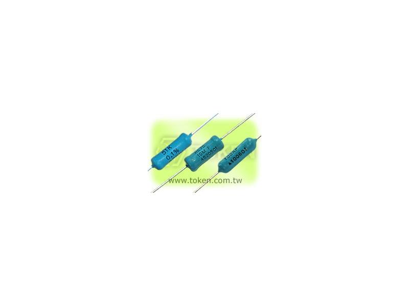 德鍵電子專業生產 金屬膜超精密電阻 - RE 系列