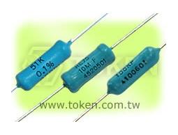 德鍵電子專業生產 金屬膜精密電阻器 – RE系列