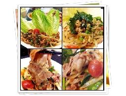 多種泰式即食料理包及泰式水餃、煎餅提供