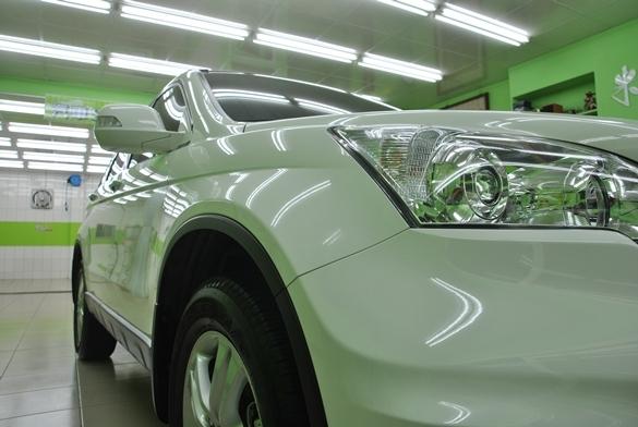 亮晶晶的完工車輛