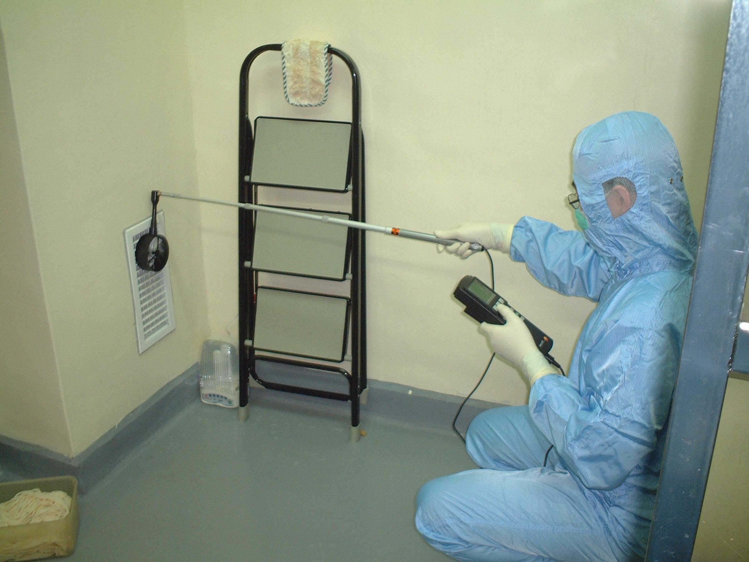 潔淨室排風量檢測