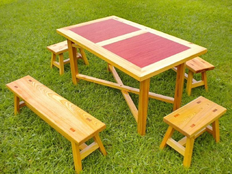 椅王子~休閒傢俱桌椅組(越南檜木) 新品上市