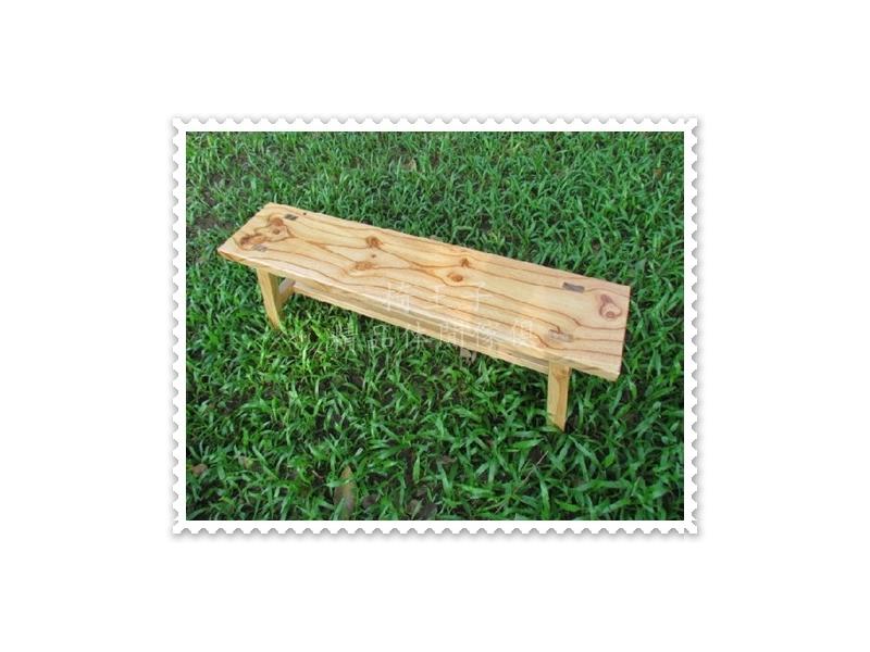 椅王子~復古傢俱(雙人板凳)松木 新品上市