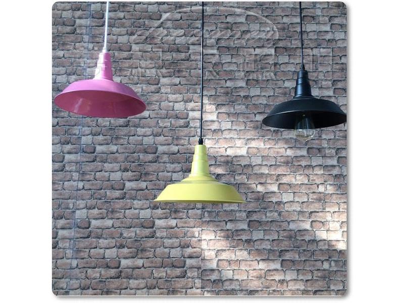 【夢想家照明】loft復古工業 美式鄉村風馬卡龍色彩吊燈 黃色 特價980 復刻版