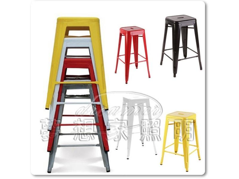 【夢想家照明】復古工業風 loft Bar Stool 法式吧檯椅 鐵椅 吧椅 特價200