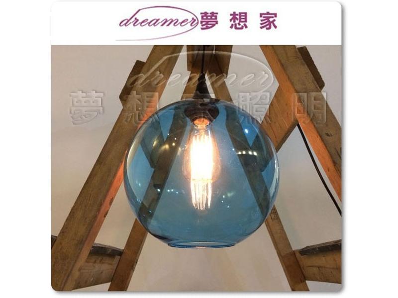 接龍吊燈 藍色 設計師的燈 復刻版 DL801108
