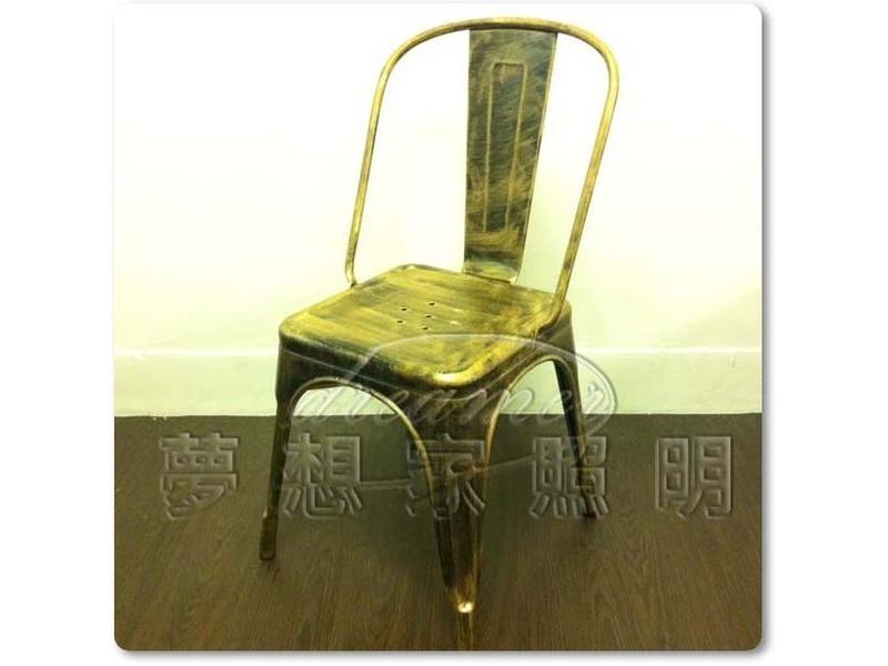 【夢想家照明】Tolix A chair 古銅色鐵椅 餐椅 商空 復刻版 DL806046