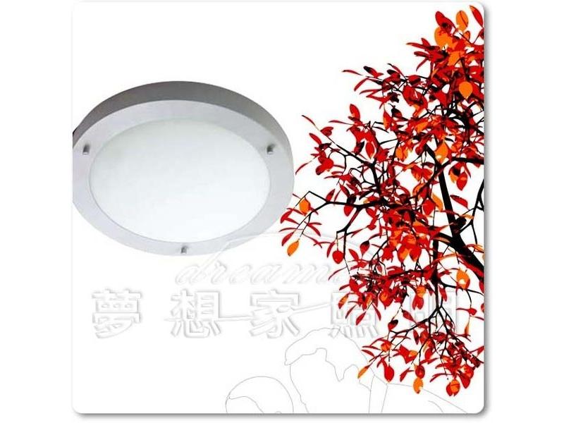【夢想家照明】防水 防塵 圓型戶外吸頂燈 居家戶外壁燈 淡灰色 特價880元