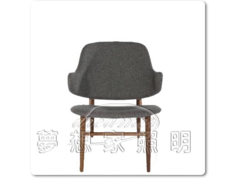 【夢想家照明】企鵝椅 單人沙發 休閒椅 灰色 復刻版DL808003