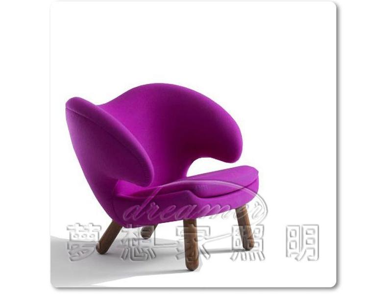【夢想家照明】鵜鶘鳥椅 Pelikan 塘鵝 單椅 單人沙發A級 復刻版 DL808002