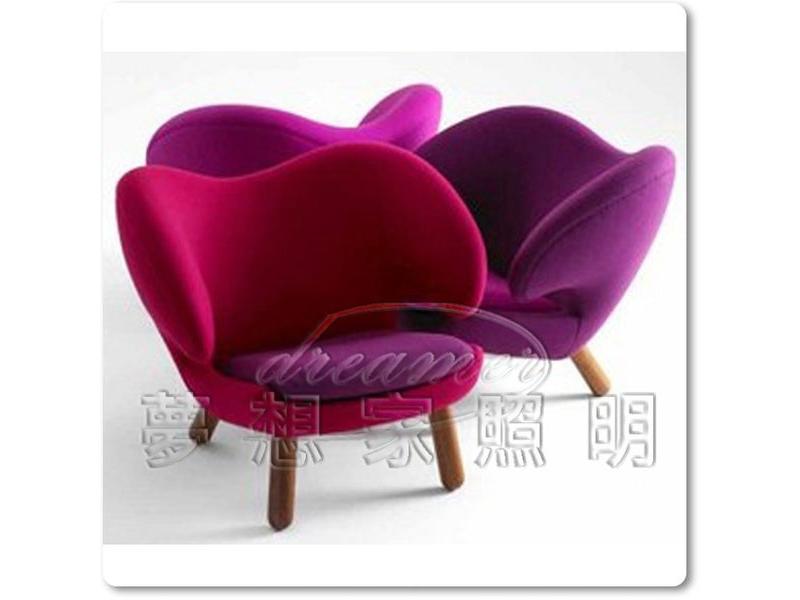 【夢想家照明】 鵜鶘鳥椅 Pelikan 塘鵝 單人沙發椅 A級 複刻版 DL808002