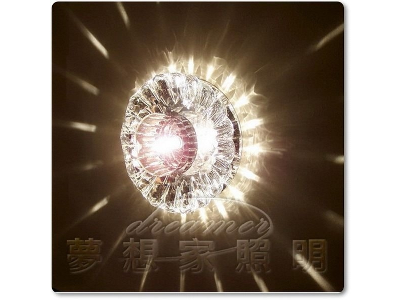 【夢想家照明】 LED 投影水晶吸頂燈 B款 贈送LED DHU110331-S05