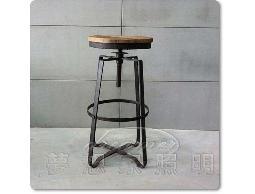 【夢想家照明】INDUSTRIAL BAR STOOL 美式鄉村工業風 X 升降吧檯椅 吧