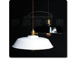 【夢想家照明】loft復古工業風 編織線工業老燈 吊燈 餐吊燈 白色 復刻版