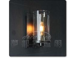 【夢想家照明】設計師的燈款 仿古復古風格 雙層玻璃燭臺壁燈 復刻版