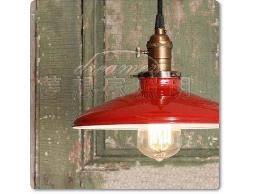 【夢想家照明】 仿古法式鄉村工業復古風 紅色 閣樓小吊燈 復刻版 DL801055