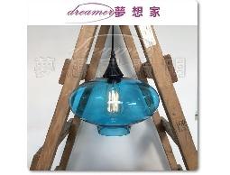 水晶洋蔥吊燈 餐吊燈 藍色 復刻版 特價1750元 DL801107
