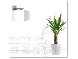【夢想家照明】北歐風格 白色方型壁燈 走道燈 玄關燈 特價1480元 設計師燈款