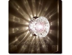 【夢想家照明】LED 投影水晶壁燈 D款 贈送LED DHU110331-S03