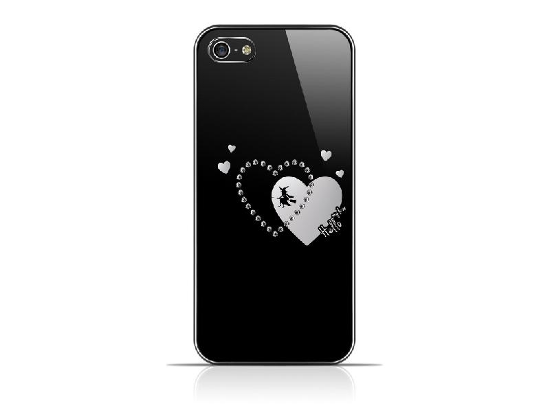 RedANGEL  iPhone5/5S 亞克力板塑殼鑲鑽