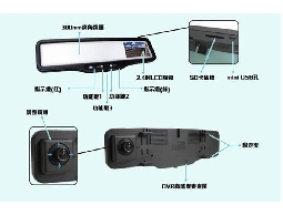 SKY EYE 後視鏡型行車紀錄器