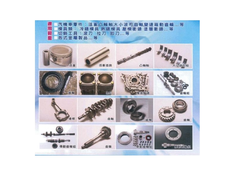WST新一代金屬潤滑處理技術-摩擦墊片、金屬類、活塞