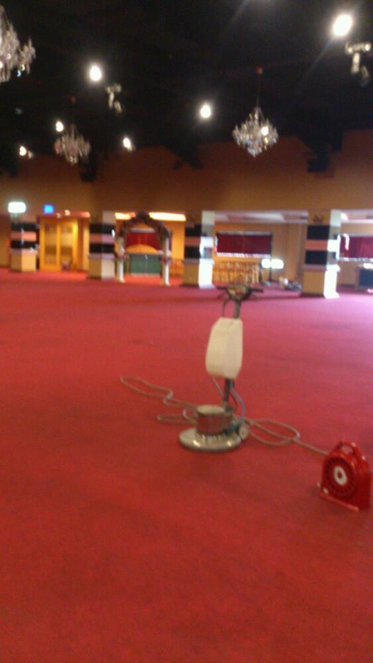尚將美食會館地毯清洗