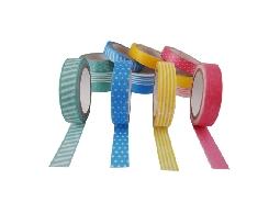 紙膠帶工廠  彩色紙膠帶 客製紙膠帶  易撕易黏 台灣製造