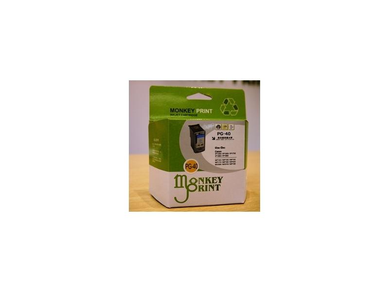 ★Monkey Print★ Canon PG-40+ CL-41 一黑一彩環保相容墨水匣