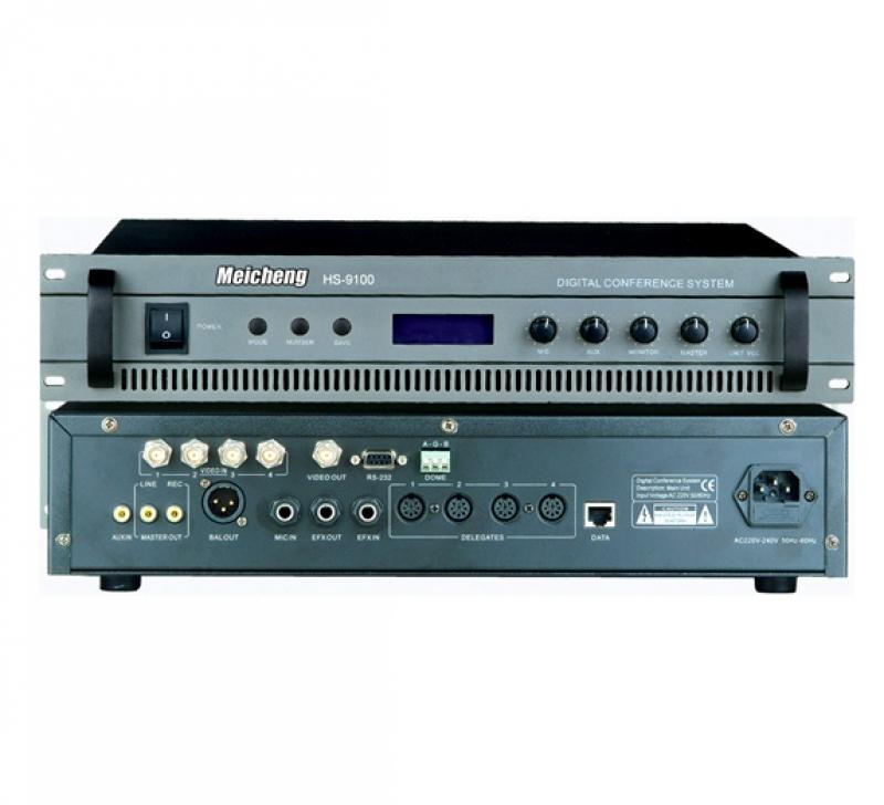 會議系統控制主機HS-9100