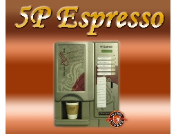 【租咖啡機】5P Espresso 可製作五種口味的全自動咖啡機