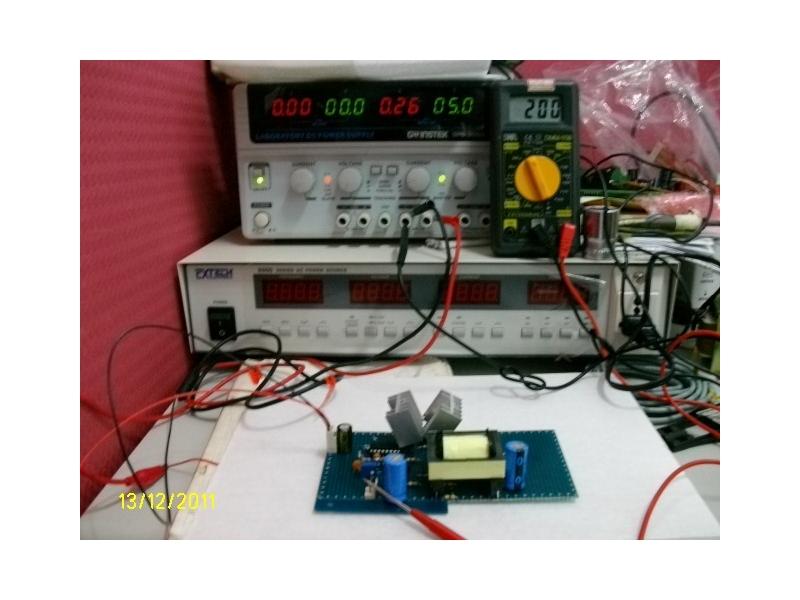 耶穌愛你 電路設計 程式設計 dc5v~40v轉ac110~220v(500ma)