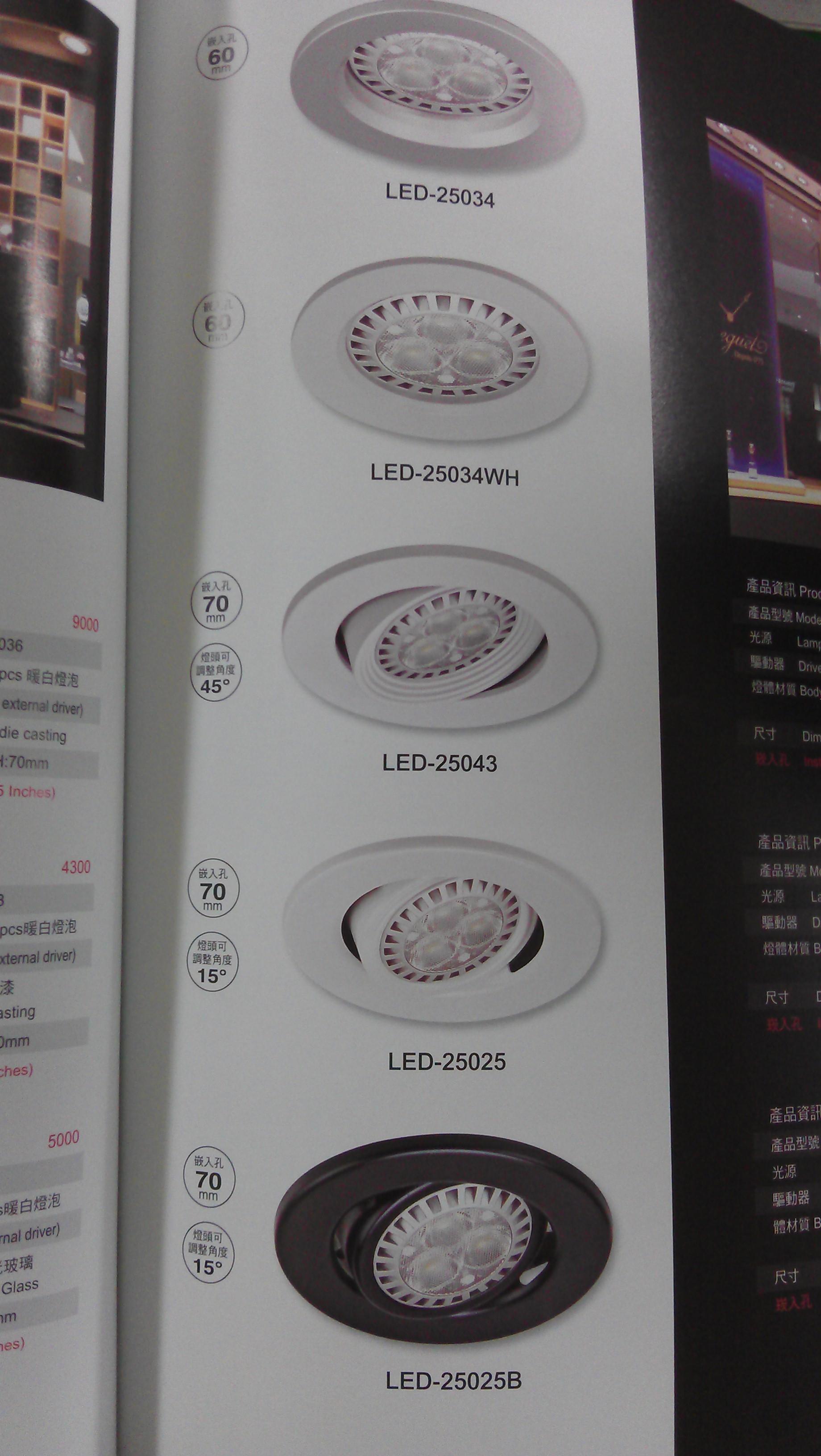 各式照明燈具 歡迎詢問