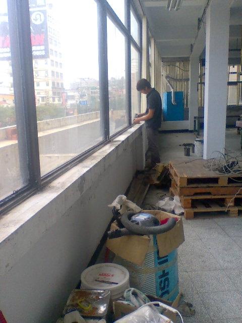 窗框底座填縫防水