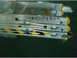 伸縮梯(三節式)、三節梯、消防梯、拉梯--鋁梯