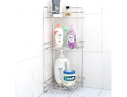尋寶新天地*B7*不鏽鋼衛浴用品浴室用品角落專用便利收納棚.沐浴用品收納架置物架不生鏽