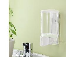 尋寶新天地*C19幸福手感透明白單孔給皂機*衛浴用品浴室用品.洗髮精.潤髮乳沐浴乳洗手乳