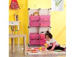 A13彩色方塊抽屜式兒童玩具箱.玩具盒收納櫃收納架置物箱整理箱