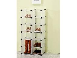 A3便利組合式12格.衣物架衣物箱收納架收納箱置物架置物箱鞋架.展示櫥.公仔盒架