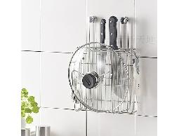 B37*白鐵不銹鋼不鏽鋼廚房用品刀具架菜刀架.砧板架鍋蓋架收納架
