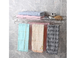尋寶新天地*B10白鐵不銹鋼不鏽鋼衛浴室用品*寬型*便利收納棚置物架