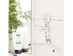 B42不鏽鋼浴室用品創意人型吹風機收納架~居家.美髮業髮型設計師.美容院