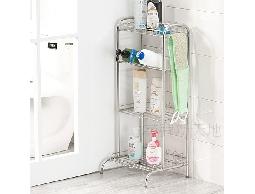 B46*衛浴用品廚房用品不鏽鋼浴室四層式沐浴乳洗碗精清潔用品瓶罐架置物架