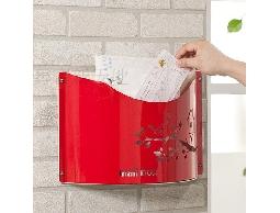 B49白鐵不銹鋼不鏽鋼大器之作開放式信箱.郵筒~信件.雜誌.報紙*貴氣典雅