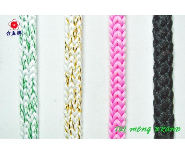 圓織帶,五色線,繩