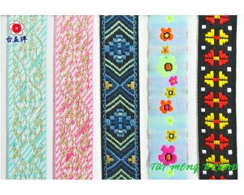 扁織帶,提花織帶
