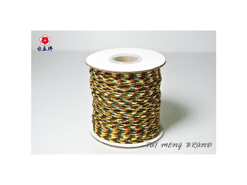 台孟企業有限公司-五色線、七色線、16色線、手工藝編織繩等,台灣專業大量製造與批發,客製化
